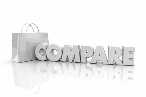 compare with and compare to