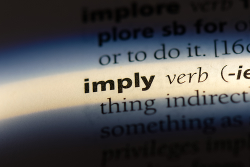 imply versus infer