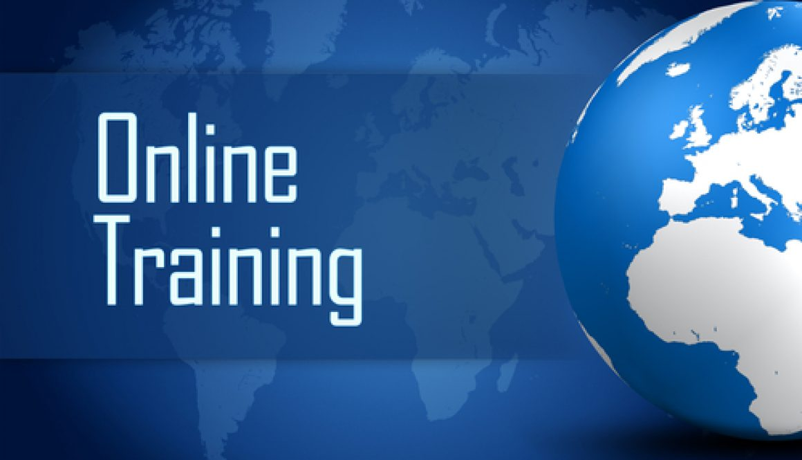 Online writing training