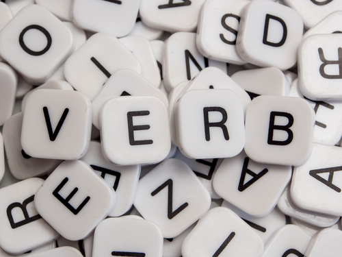 Verbing is the name for turning nouns into verbs
