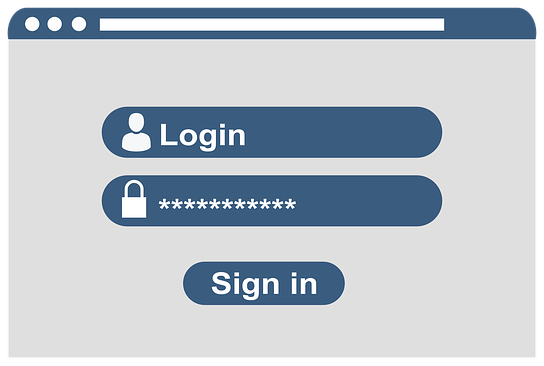 Sign in versus log in