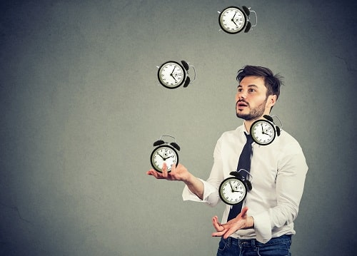 manage your time when writing